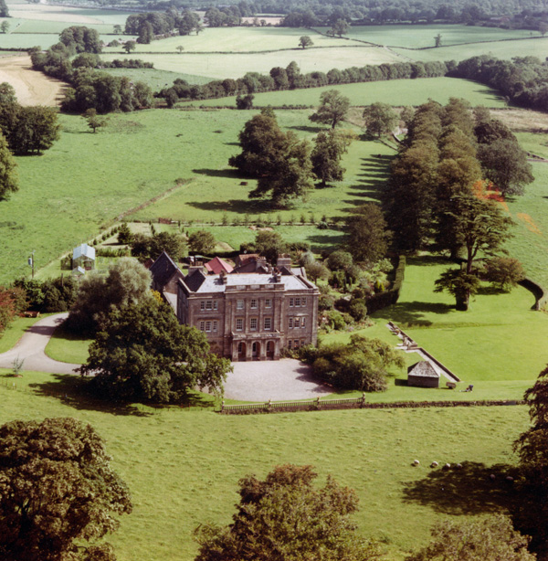 Southill House from the air